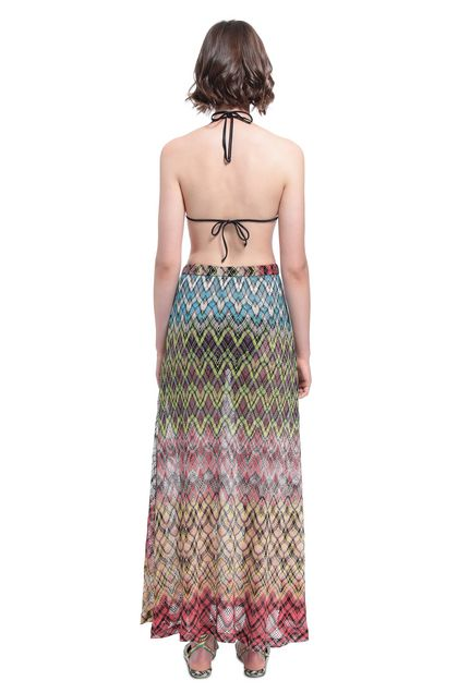 MISSONI MARE Beachwear skirt Yellow Woman - Front