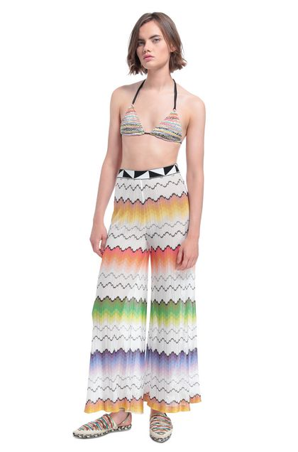MISSONI MARE Beachwear pants White Woman - Back