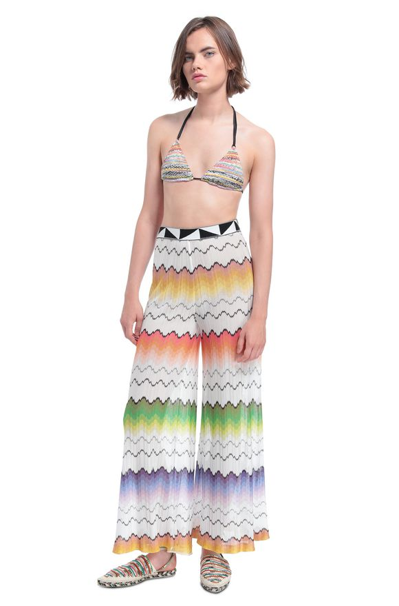 MISSONI Beachwear trousers Woman, Frontal view