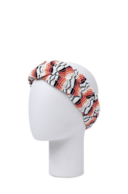 MISSONI MARE Beachwear head band White Woman - Front