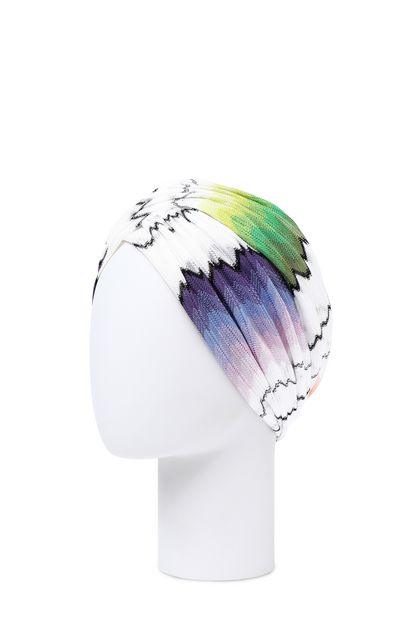 MISSONI MARE Beachwear turban White Woman - Front