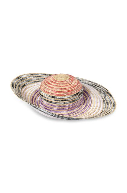 MISSONI MARE Beach Hat Beige Woman - Back