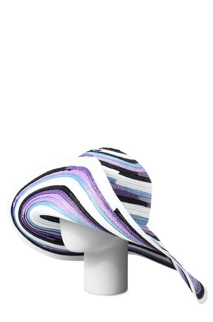 MISSONI MARE Beach Hat Lilac Woman - Front