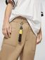 Marni Key ring in ribbon black and yellow Man - 2