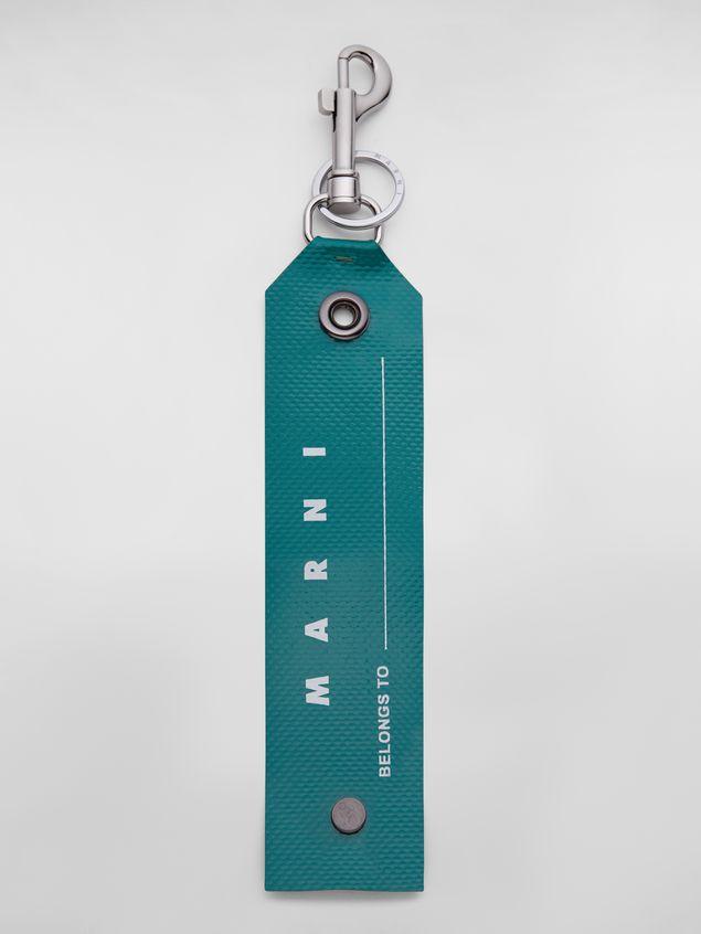 Marni Key ring in PVC green Man - 1