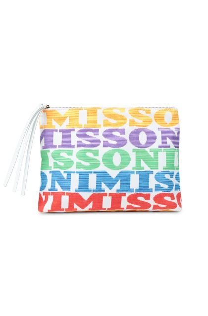 MISSONI MARE Beachwear Bag White Woman - Back