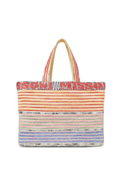 MISSONI MARE Beachwear Bag Yellow Woman - Back