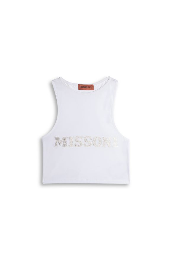 MISSONI Camiseta de tirantes Mujer, Vista sin modelo