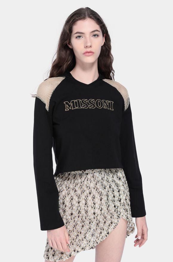 MISSONI Beachwear Sweatshirt Woman, Detail