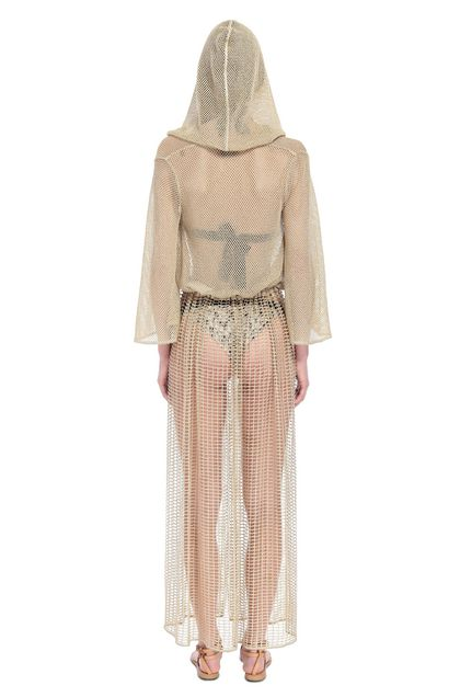 MISSONI MARE Long beach coverall Gold Woman - Front