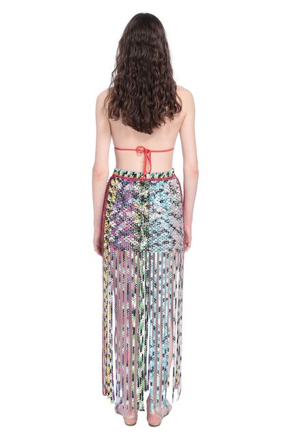 MISSONI MARE Beachwear skirt White Woman - Front