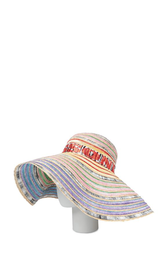 MISSONI Cappello beachwear Donna, Vista dal retro