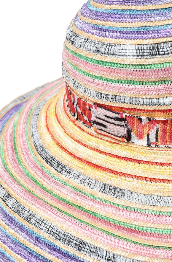 MISSONI Cappello beachwear Donna, Vista laterale