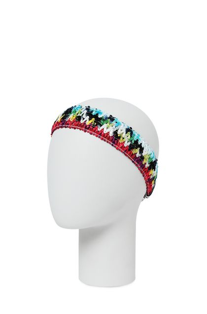 MISSONI MARE Beachwear head band Red Woman - Front