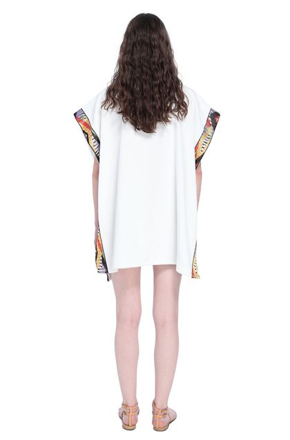 MISSONI MARE Poncho White Woman - Front