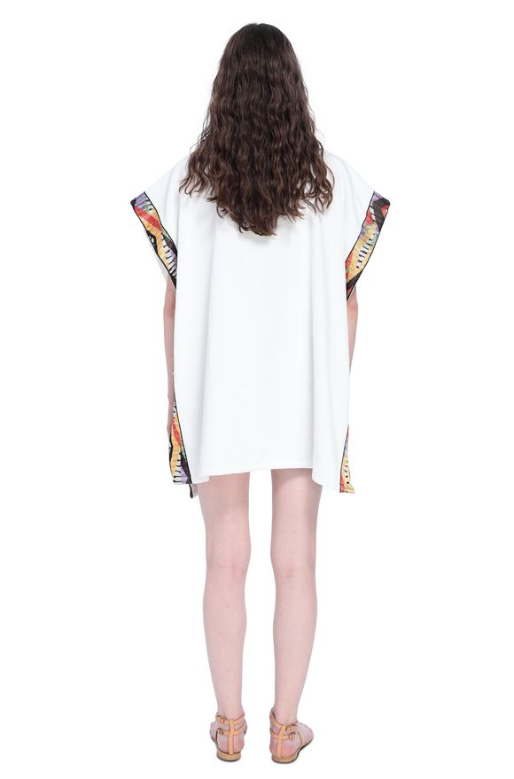 MISSONI Poncho Woman, Rear view
