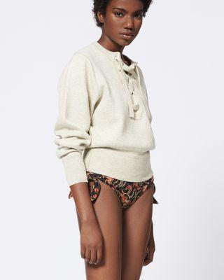 ISABEL MARANT ÉTOILE BIKINI BOTTOM Woman SUKIE bikini bottoms r