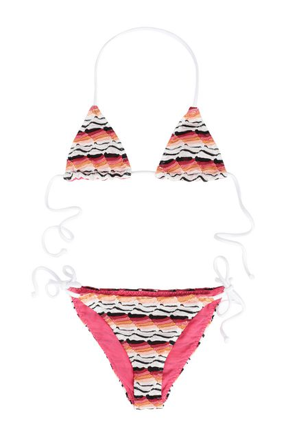 MISSONI KIDS Bikini Orange Woman - Back
