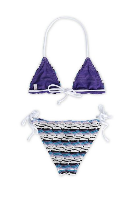 MISSONI KIDS Bikini Purple Woman - Front