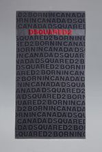 DSQUARED2 Born In Canada Towel Beach towel Man