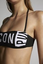 DSQUARED2 Punk Bandeau Top Beachwear Woman