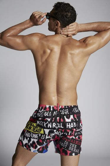 DSQUARED2 Swimming trunks Man D7B6G260043B b