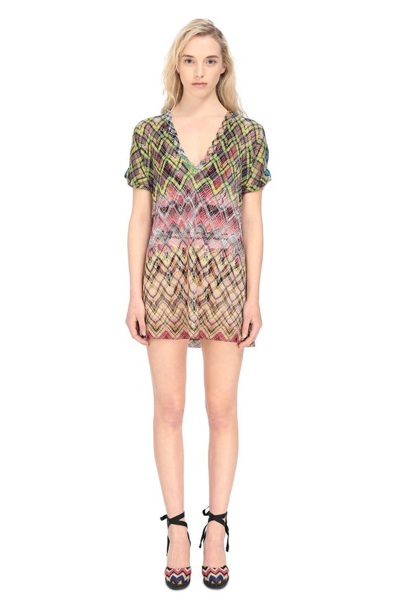 MISSONI Beachwear T-Shirt Woman, Frontal view