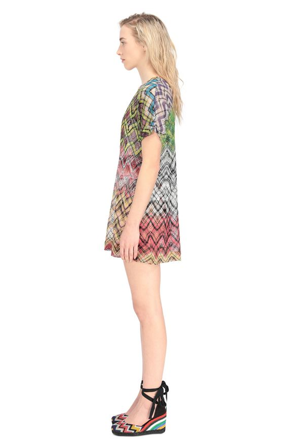 MISSONI Beachwear T-Shirt Woman, Side view