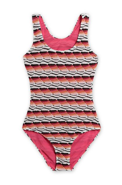 MISSONI KIDS One-piece Fuchsia Woman - Back