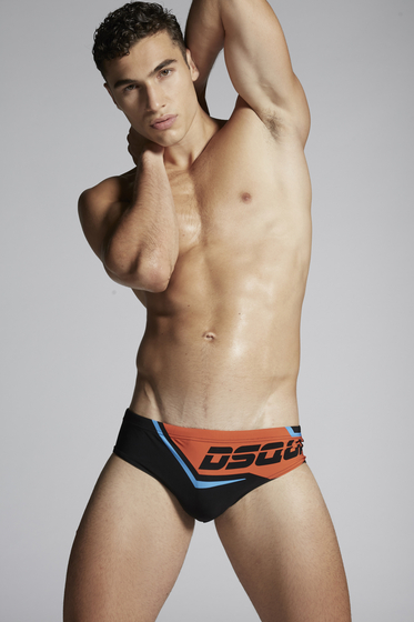 DSQUARED2 Swimming trunk Man D7B332390243 b