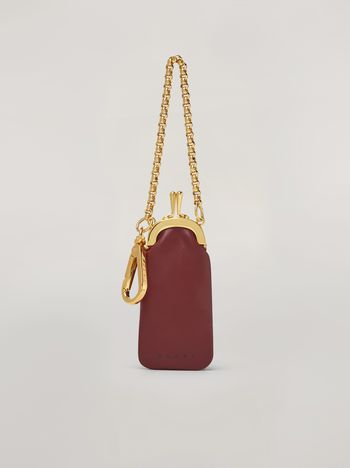 Marni Mini-wallet in bi-coloured lambskin Woman