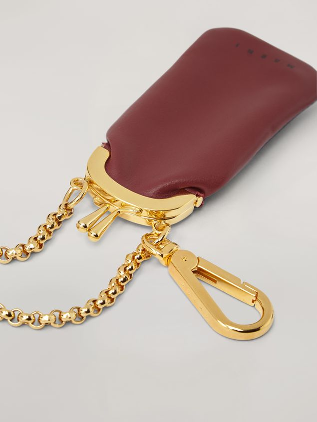 Marni Mini-wallet in bi-colored lambskin Woman - 4