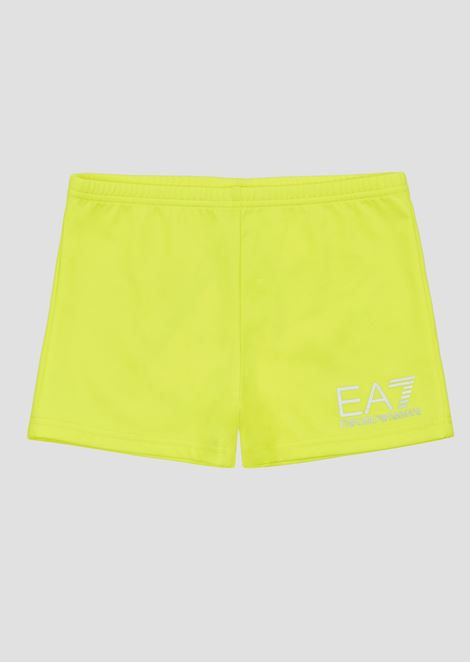 Boys' swimming shorts in stretch fabric