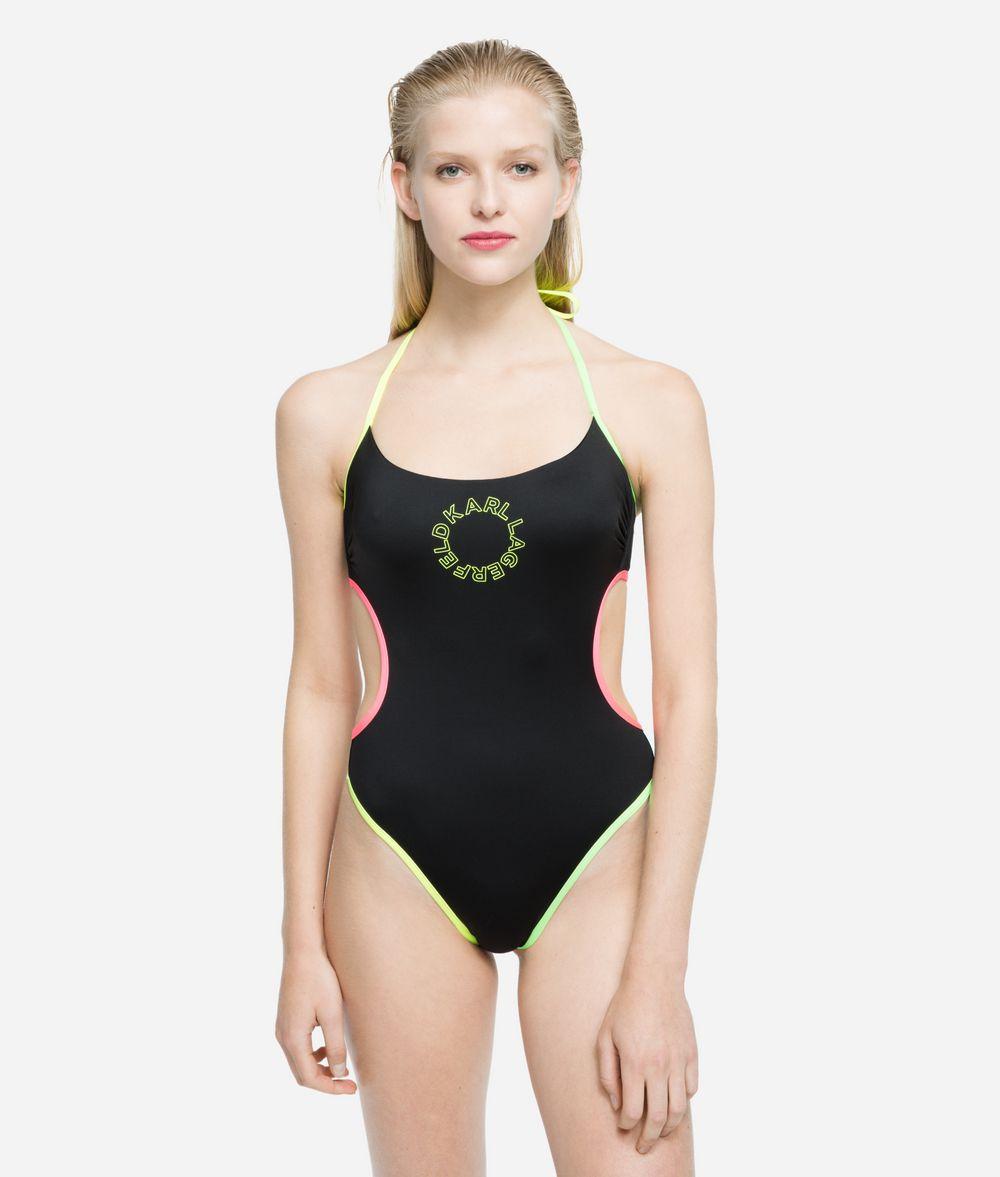 KARL LAGERFELD K/Neon One Piece Swimwear Woman f