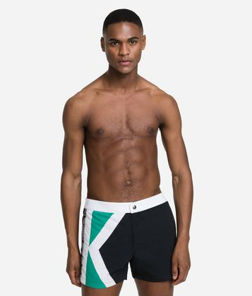 KARL LAGERFELD GRAPHIC K BOARDSHORTS
