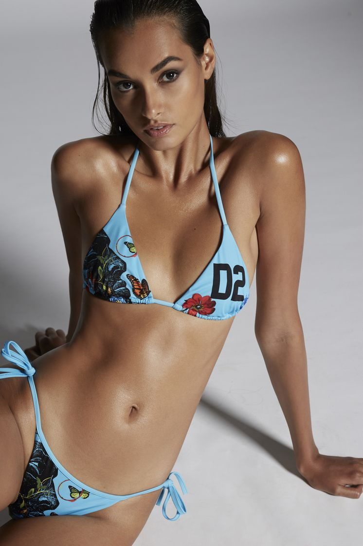 DSQUARED2 D2 Bikini Top Triangle Top Woman