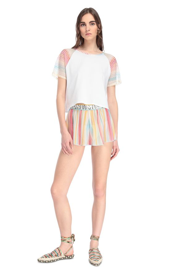 MISSONI Shorts Woman, Frontal view