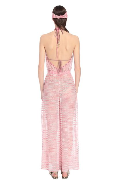 MISSONI MARE Beach Jumpsuit Pink Woman - Front