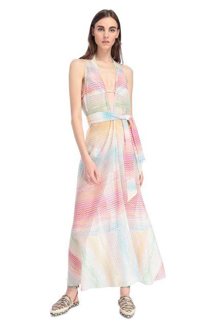 MISSONI MARE Robe de plage Blanc Femme - Derrière