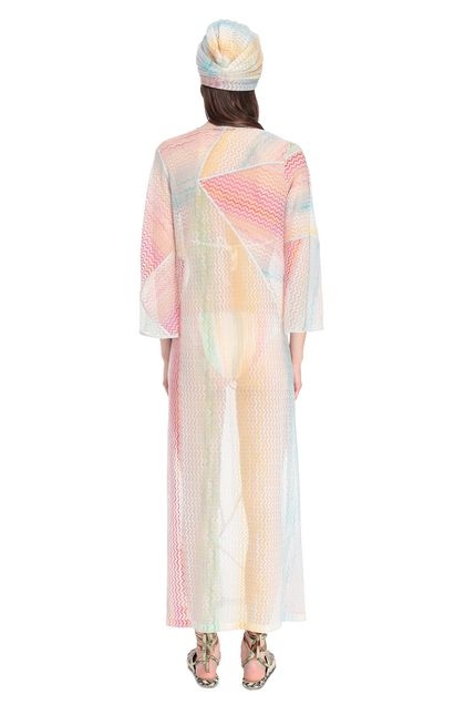 MISSONI MARE Long beach coverall White Woman - Front