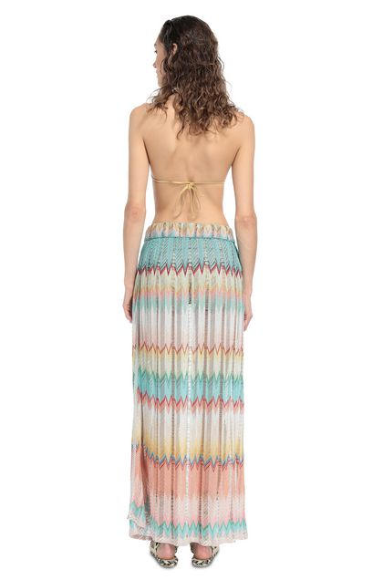 MISSONI MARE Beachwear skirt Turquoise Woman - Front