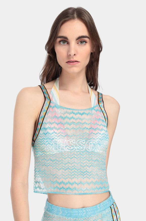 MISSONI Top beachwear Woman, Detail