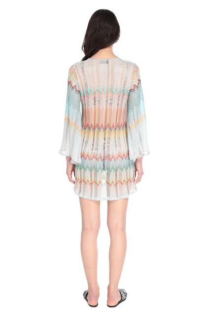 MISSONI MARE Короткое пляжное платье Бирюзовый Для Женщин - Передняя сторона
