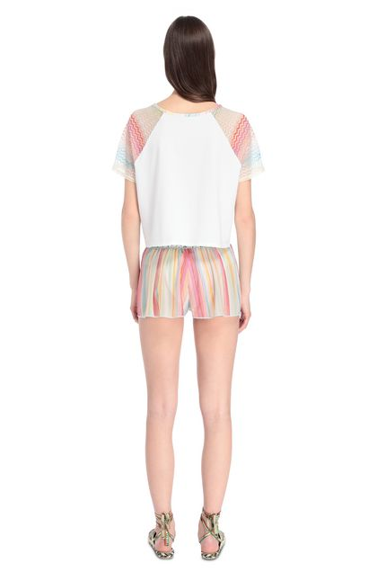 MISSONI MARE T-shirt beachwear Bianco Donna - Fronte