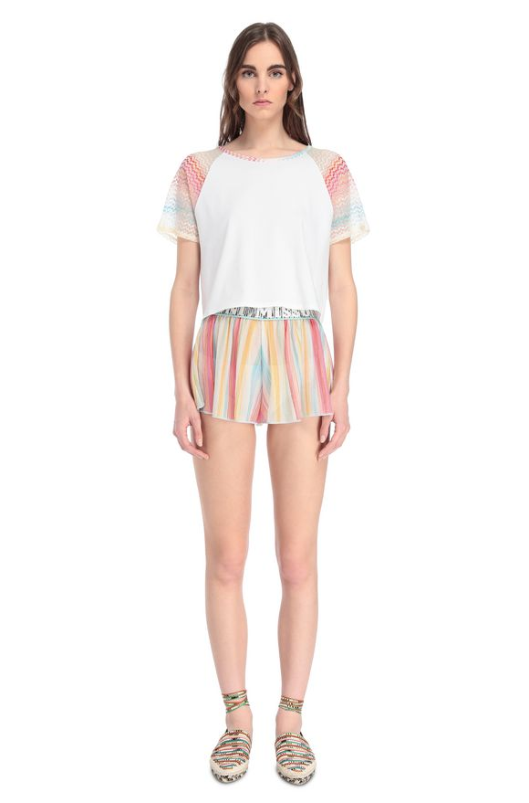 MISSONI Camiseta de playa Mujer, Vista frontal