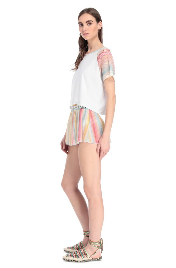 MISSONI Camiseta de playa Mujer, Vista lateral