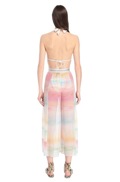 MISSONI MARE Beachwear trousers White Woman - Front