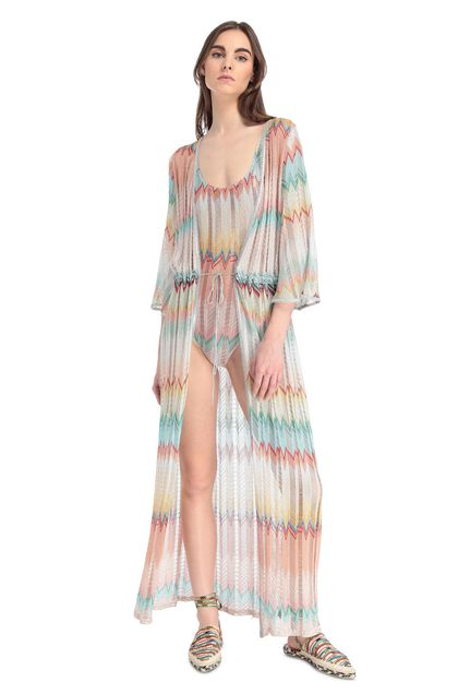 MISSONI MARE Kaftan Turquoise Woman - Back