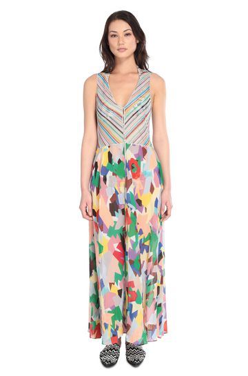 MISSONI MARE Langes Strandkleid Damen m
