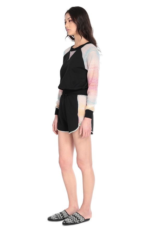 MISSONI Beachwear Sweatshirt Woman, Side view